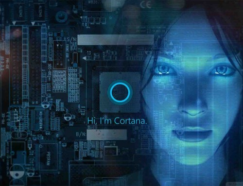 The origin and development of Microsoft Cortana.