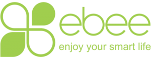 ebee logo enjoy your smart life
