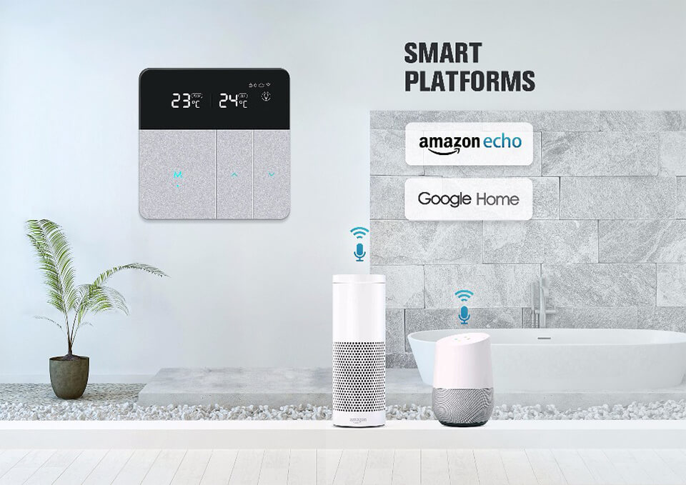 Smart WiFi Underfloor Heating Thermostat